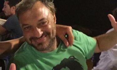 Χρήστος Φερεντίνος : Οικογενειακές διακοπές στην Καλαμάτα