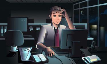 Πόσο αυξάνεται ο κίνδυνος εγκεφαλικού για κάθε επιπλέον ώρα δουλειάς