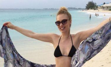 Χριστίνα Αλούπη: Διακοπές στην Καραϊβική