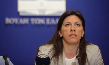 Πρόωρες εκλογές: Η Ζωή Κωνσταντοπούλου εξηγεί τη θεσμική εκτροπή