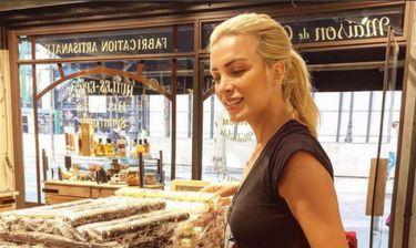 Οι «πειρασμοί» της Κατερίνας Καινούργιου στο Παρίσι και τα γλυκά φιλά!