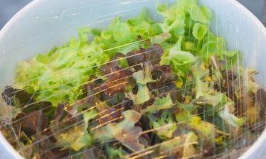 Γιατί πρέπει να αποφεύγετε τις συσκευασμένες σαλάτες