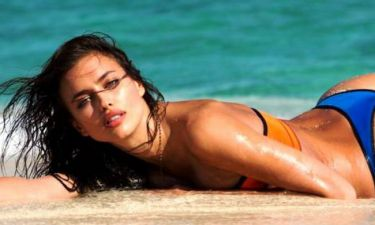 Ασυγκράτητη η Ιρίνα στην πισίνα (photos)