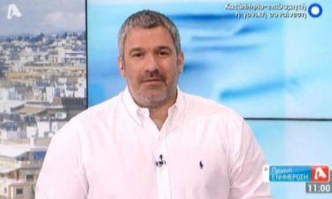 Σπύρος Χαριτάτος: «Δεν θα κάνουμε τη δημοσιογραφία που δημιούργησε καχύποπτους τηλεθεατές»