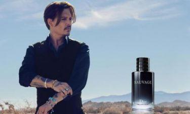 Ο Johnny Depp είναι το νέο πρόσωπο του οίκου Dior
