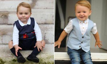 Κι όμως δεν είναι ο πρίγκηπας George και στις δύο φωτογραφίες! Είναι ο...