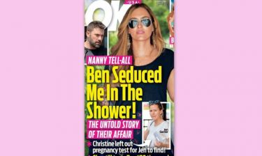 Ben Affleck: Η νταντά «σπάει» τη σιωπή της και αποκαλύπτει πως ο ηθοποιός την αποπλάνησε στο… μπάνιο