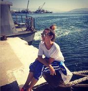 Η Κλέλια στο ναυτικό!