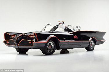 Πωλείται το αυθεντικό Batmobile προς… 4,5 εκατ. δολάρια