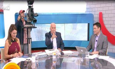 Ο Γιώργος Παπαδάκης αποκάλυψε τον λόγο της αποχώρησης της Κουτροκόη από την εκπομπή του