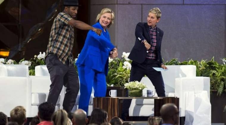 Το έριξε στον χορό η Χίλαρι Κλίντον