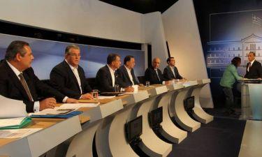 Εκλογές 2015: Δείτε Live το debate των πολιτικών αρχηγών
