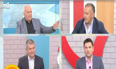 Debate πολιτικών αρχηγών: Η ατάκα του Παπαδάκη για τον Γιομπαζολιά