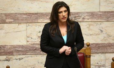 Ζωή Κωνσταντοπούλου: Δε θα πιστεύετε τι έκανε την ώρα του debate των πολιτικών αρχηγών