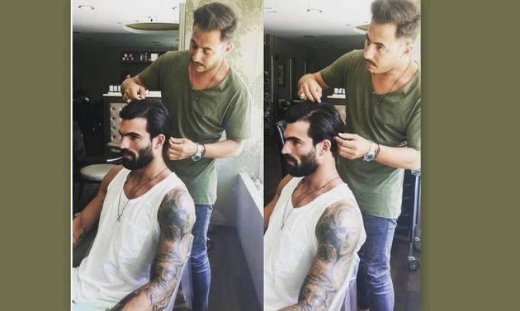 Δημήτρης Αλεξάνδρου: Tο κούρεμα και η θεραπεία στα μαλλιά του