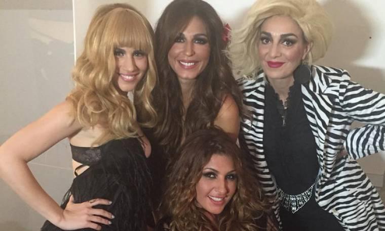 Παπαρίζου: Δείτε την στα backstage του «Nine»