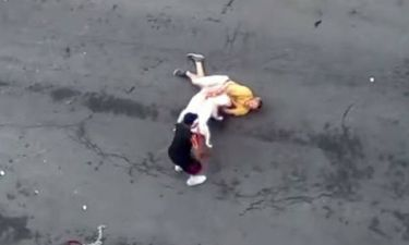 Σκληρό βίντεο: Πίτμπουλ κατασπάραξαν περαστικό!