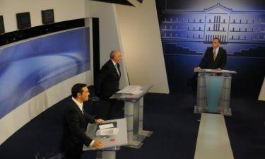 Στα ύψη η τηλεθέαση του debate των δυο πολιτικών αρχηγών