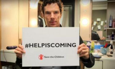 Συγκλονίζει το μήνυμα του Benedict Cumberbatch για τους πρόσφυγες