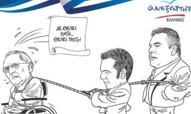 Εκλογές 2015: Οι ΑΝΕΛ ρίχνονται στη «μάχη» της κάλπης και με προεκλογικά σκίτσα