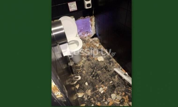 Ντοκουμέντο: Ριφιφί στο μαγαζί του Χολιδη. Έκλεψαν το χρηματοκιβώτιο (Nassos blog)