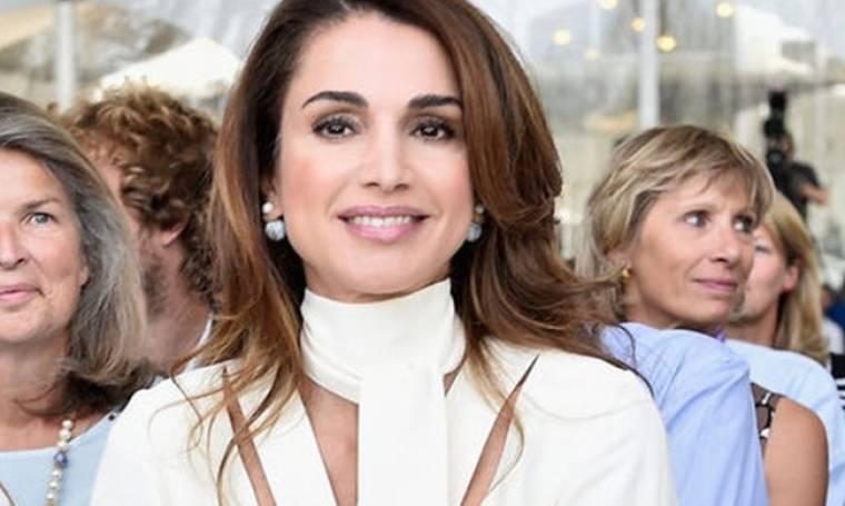 Στο πλευρό των προσφύγων η Βασίλισσα Ράνια της Ιορδανίας