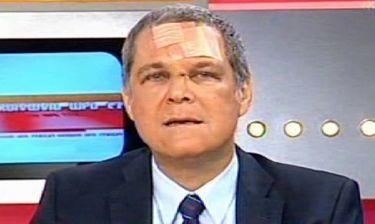 Θάνος Tζήμερος: Με τσιρότα και γάζες εμφανίστηκε στην πρωινή εκπομπή του Mega!