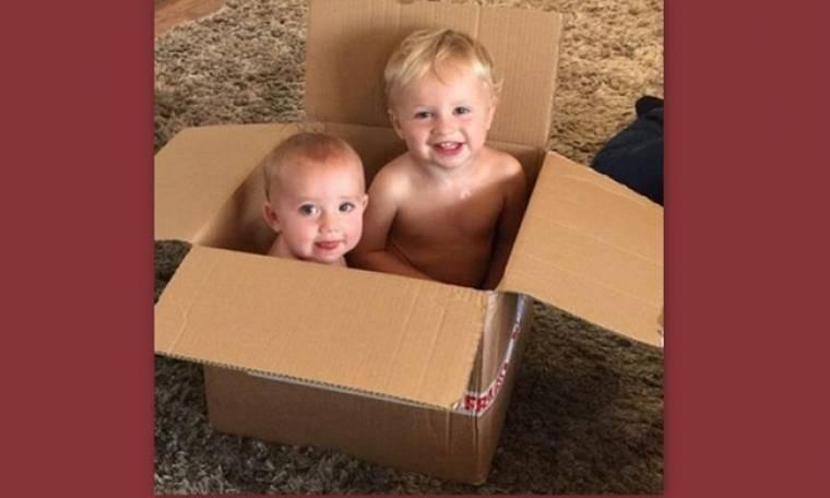 Η τρυφερή φωτογραφία της στο instagram με τα δυο μικρά  παιδιά της