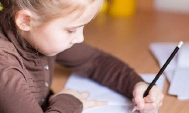 Back to school: «Έχει το παιδί μου δυσγραφία ή κακογραφία;»