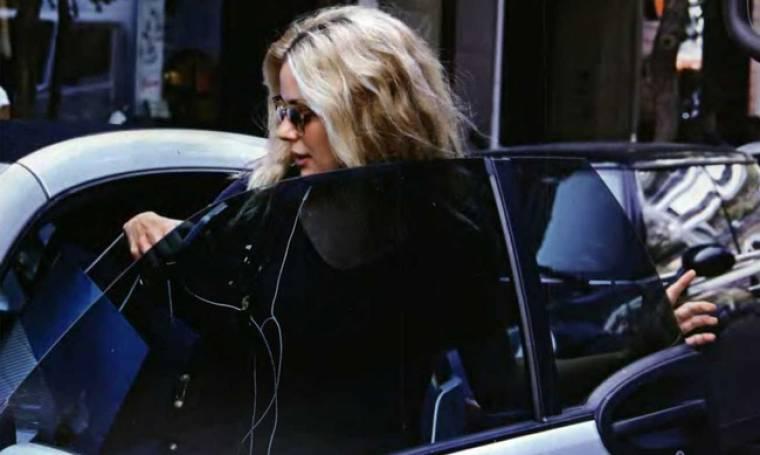 Ζέτα Μακρυπούλια: Πού την εντόπισε ο φωτογραφικός φακός;