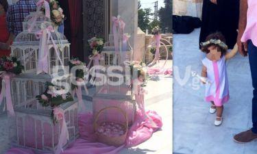 Οι πρώτες εικόνες από τη βάπτιση της κόρης των…