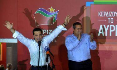 Αποτελέσματα εκλογών 2015 - Κυβέρνηση Τσίπρα-Καμμένου μετά την καθαρή νίκη ΣΥΡΙΖΑ