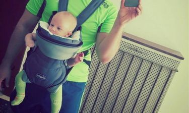 Η πρώτη φωτογραφία του γιου τραγουδιστή – Πήγαν μαζί στο γυμναστήριο!