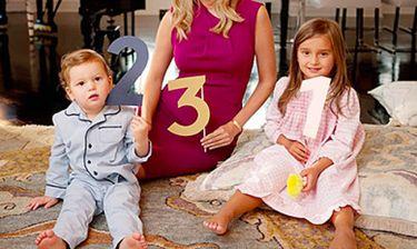 Έγκυος στο τρίτο της παιδί διάσημη μανούλα! (εικόνα και βίντεο)