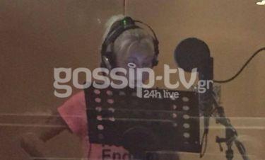 Η Λένα Παπαδοπούλου στο studio-Τι ετοιμάζει;