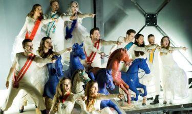 Τόλη-Ψυχράμη: «Η αγάπη για το θέατρο και το τραγούδι μας ενώνει»
