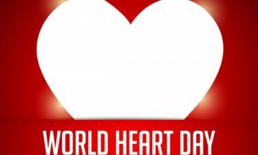 Παγκόσμια Ημέρα Καρδιάς: Δείτε πώς θα προστατεύσετε τη δική σας