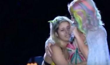 Μεθυσμένη θαυμάστρια χούφτωσε την Katy Perry στη σκηνή