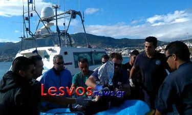 Νέο ναυάγιο προσφύγων στη Μυτιλήνη - Νεκροί ένα παιδί και μια γυναίκα (pic)