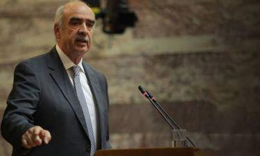 ΝΔ: Έτοιμος να καταθέσει υποψηφιότητα ο Μεϊμαράκης - Πήρε τους καταλόγους με τα μέλη