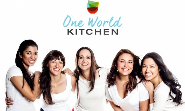«One World Kitchen»: 5 διαφορετικές Κουζίνες σε μία εκπομπή!