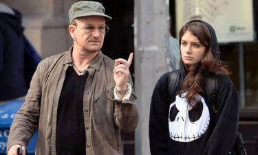 Θα πάθετε πλάκα όταν δείτε την κόρη του Bono!