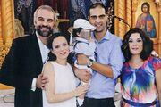 Τριπόδης-Παπαδοπούλου: Βάφτισαν τον γιο τους