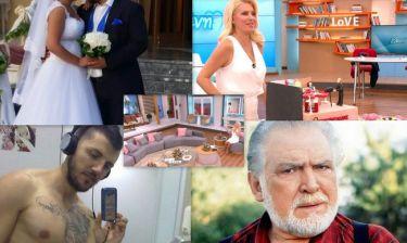 Ο γάμος γνωστού ηθοποιού, η αλλαγή του Σαράντη και η απάντηση της Μενεγάκη στις φήμες περί...