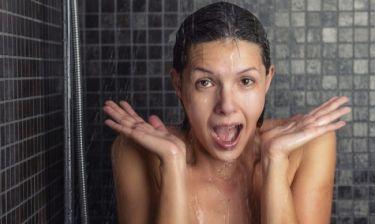 Ποια είναι η ιδανική θερμοκρασία του νερού στο ντους