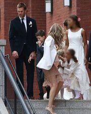 Gisele: Ούτε χαμόγελο δεν έσκασε στο γάμο της κουνιάδας της  (φωτό)