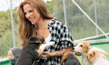 Εριέττα Κούρκουλου: Εξηγεί πως αποφάσισε να δημιουργήσει το καταφύγιο αδέσποτων ζώων