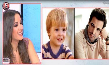 Χριστίνα Μουστάκα: Η απίστευτη ατάκα της για την παιδική φωτογραφία του Νίνο!