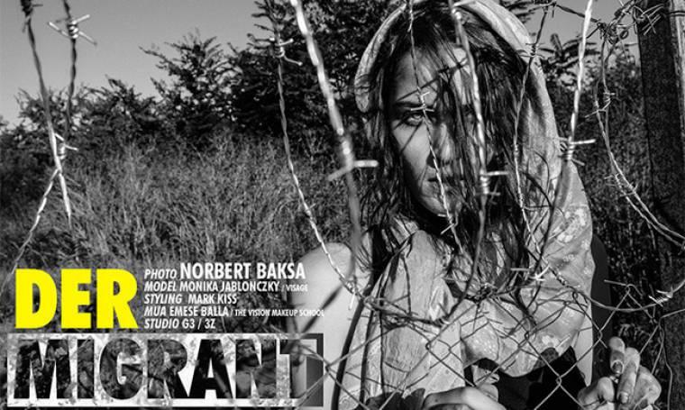 Σάλος με τα μοντέλα που φωτογραφίζονται ως… μετανάστριες