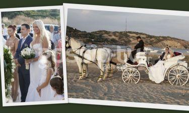 Το φωτογραφικό άλμπουμ του γάμου της Στέλλας Μπεζαντάκου!